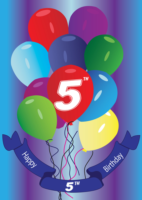 WE ARE FIVE BIRTHDAY